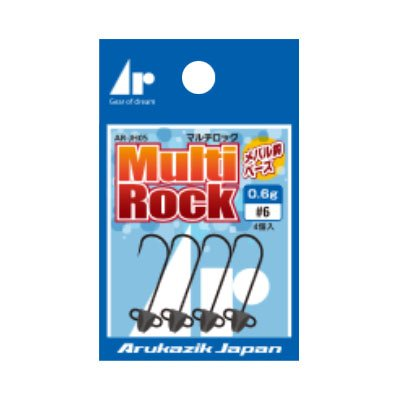 【ARUKAZIKJAPAN/アルカジックジャパン】Ar.ヘッドマルチロック 2.0g-#6 254151
