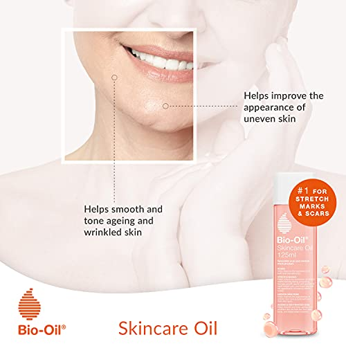 Bio-Oil Skincare Oil - Improve the Appearance of Scars, Stretch Marks and Skin Tone - 1 x 200 ml
