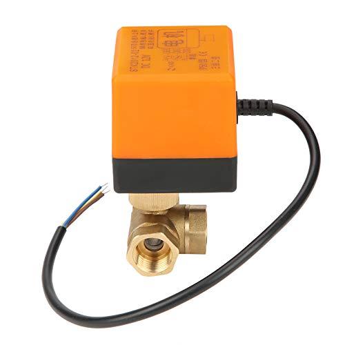 Válvula de bola motorizada Controlador de agua Actuador de interruptor eléctrico Válvula eléctrica de bola motorizada de 3 vías para sistemas de calefacción de suelo para sistemas