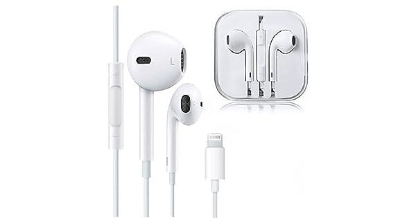 Lighting Headphones,Earbuds,Earphones for iPhone,Microphone Earphones Stereo Headphones Noise Isolating Headset Fit Compatible with iPhone 11//Xs//XR//XS Max//iPhone 7//7 Plus 8//8Plus //iPhone X Earphones