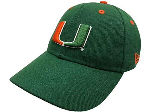 New Era Miami Hurricanes Dark Green…