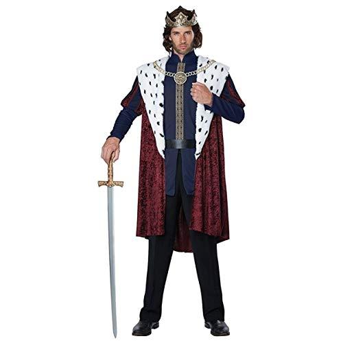 California Costumes Men's Royal Storybook King Costume, multi, Small/Medium