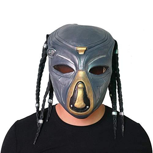 Alien VS.Máscara Jagged Guerrero, Lobo Solitario máscara