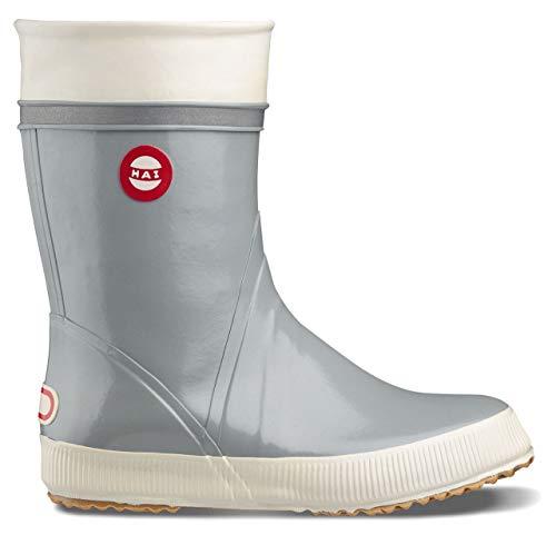 Nokian Footwear Hai Gummistiefel hellgrau/Sohle Natur