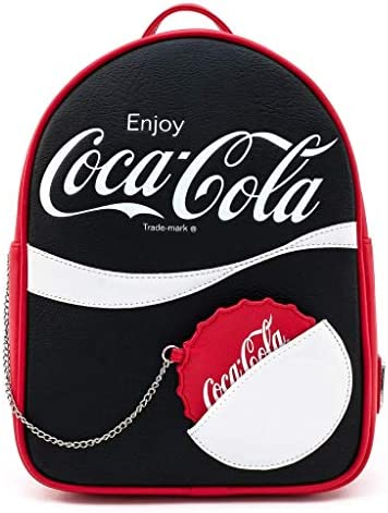Loungefly Coca Cola Logo With Coin Purse Mini Backpack product image