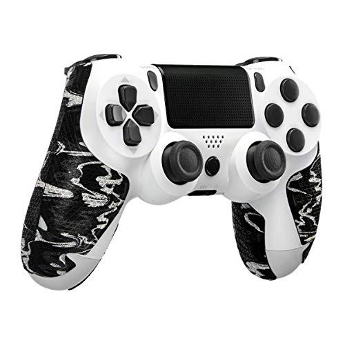 Lizard Skins DSP Controller Grip für PS4 Controller – PS4 Gaming Grip – Playstation 4 kompatibler Griff 0,5 mm Dicke – vorgeschnittene Teile – einfach zu installieren – 10 Farben (Schwarz