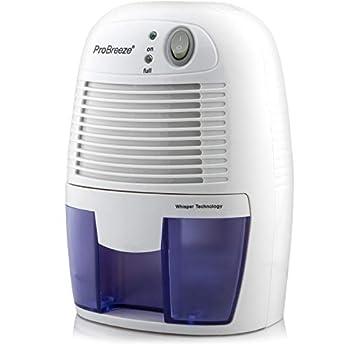Pro Breeze Electric Dehumidifier 1200 Cubic Feet  215 sq ft  - Portable Mini Dehumidifier with Auto Shut Off for Home Bedroom Basement Trailer RV