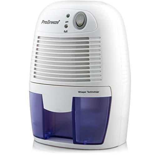 Pro Breeze Luftentfeuchter Mini 500ml Entfeuchter gegen Feuchtigkeit, Schmutz und Schimmel in kleinen Räumen im Haus, Abstellkammer, Kleiderschrank oder Wohnwagen