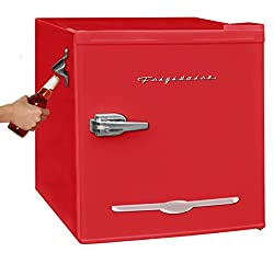 in budget affordable Igloo Retro Compact Refrigerator 1.6ccm Ft with side bottle opener