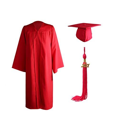Richolyn Vestido De Graduación Vestido Académico Vestido De Licenciatura Tablero De Mortero Traje De Graduación Sombrero De Graduado Regalo De Graduado para La Universidad