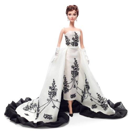 Barbie - Audrey Hepburn en Sabrina, muñeca Fashion (Mattel X8277)