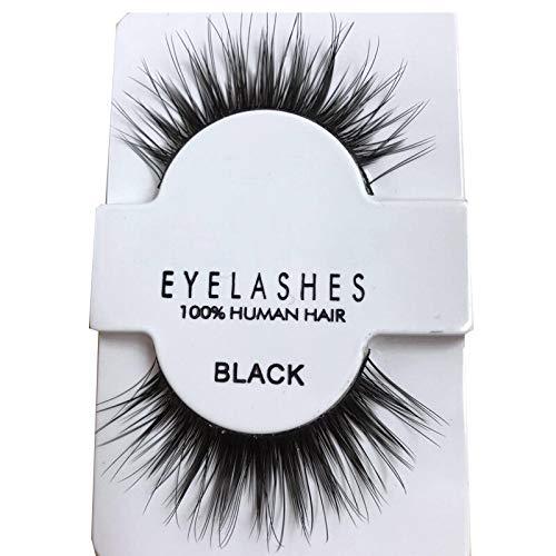 Fluffy Mink Lashes 3D Lashes Dramatic Thick Volume Natural Eyelashes 605