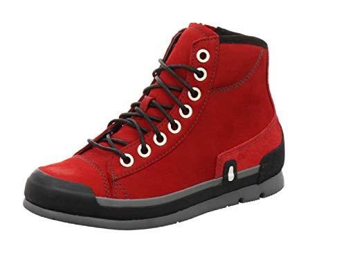 Wolky Comfort Sneakers Watson - 13505 dunkelrot Nubukleder - 40