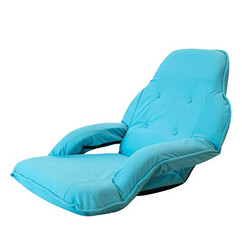 YLCJ Slaapbank, opvouwbaar, verstelbaar, met armleuningen, elastisch, van netstof
