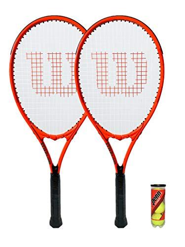Wilson 2 raquetas tenis Federer XL Pro Staff Precision