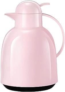 ZCXBHD 真空ポット、ステンレス鋼家庭用湯たんぽ沸騰水ヨーロッパスタイル大容量寮の部屋魔法瓶 (色 : ピンク)