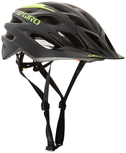 Giro Phase Casco, Unisex, Helm Phase, Black/Lime/Flame, Large