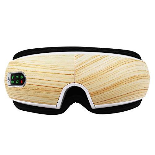 Masajeador De Ojos, Masajeador Electrónico Plegable Recargable con Presión De Aire, Compresión del Calor, Bluetooth Música para Ojo Seco Relajarse Visión Ojo Oscuro Círculos Estrés Alivio