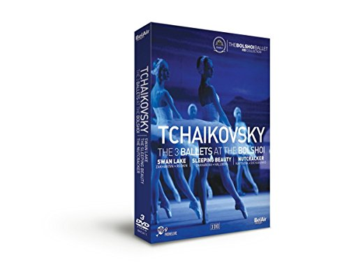 Tschaikowsky: The 3 Ballets at the Bolshoi [3 DVDs]