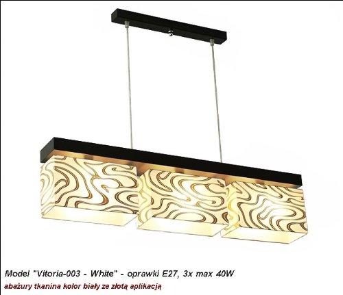 wero Design Lustre Suspension Lampe suspension-Vitoria 003 White