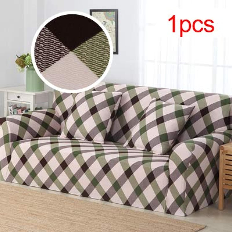 Elastic Sofa Cover Printed Flowers Slipcover Tight Wrap All-Inclusive Corner Sofa Cover Stretch Furniture Covers 1 2 3 4 Seater   4, Single seat Sofa