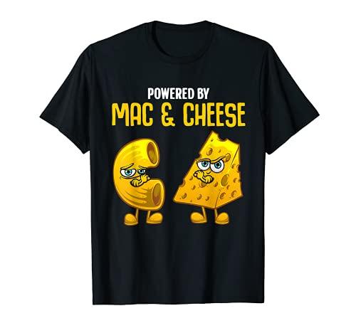 Divertido regalo para Mac y queso para nios, hombres, mujeres, queso macarrones Camiseta