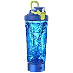professional Blackube Electric Shaker Protein Shaker Bottle – 20 oz Rechargeable Electric Vortex Mixer, BPA…