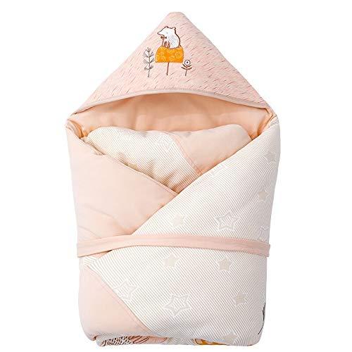 HS-01 Multifunctionele slaapzak, pasgeboren herfst en winter-coating-slaapzak, babybenodigdheden quilt slaapzak, verwijderbare liner roze