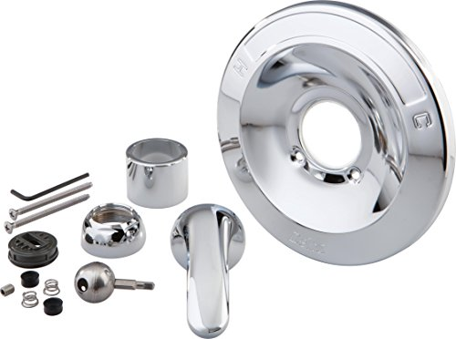 Delta Faucet Shower Handle Renovation Repair Trim Kit for Delta 600 Series Tub and Shower Trim Kits, Chrome RP54870