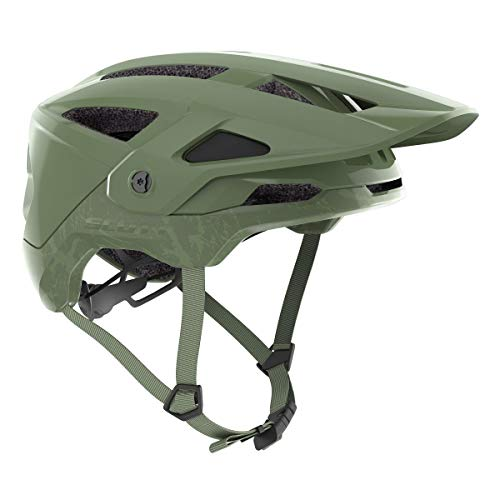 Scott Stego Plus MTB Bicycle Helmet Green 2021 Size: S (51-55 cm)