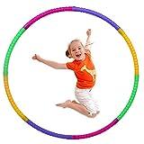 Hula Hoop Niña, Aro de Ejercicio Físico Ajustable Desmontable para Gimnasia, Baile, Juegos, Adelgazar para Niños y Niñas (60cm)