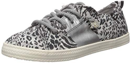 Billabong Women's Marina Canvas Shoes Sneaker, Whisper, 10 M US