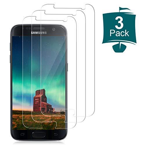 NONZERS Panzerglas für Samsung Galaxy S7,[3 Stück] 9H Härte HD Klar Schutzfolie Displayschutzfolie,Anti-Kratzen,Anti-Öl,Blasenfrei,Galaxy S7 Panzerglasfolie