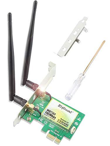 Ziyituod 1200Mbps WiFi Card with Bluetooth 4.2 | Intel Wireless ac-7265...