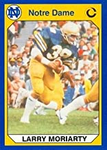 Larry Moriarty Football Card (Notre Dame) 1990 Collegiate Collection #62