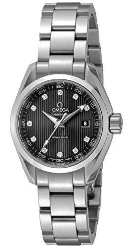 [オメガ] 腕時計 シーマスターアクアテラ グレー文字盤 ダイヤモンド 231.10.30.60.56.001 並行輸入品 シルバー