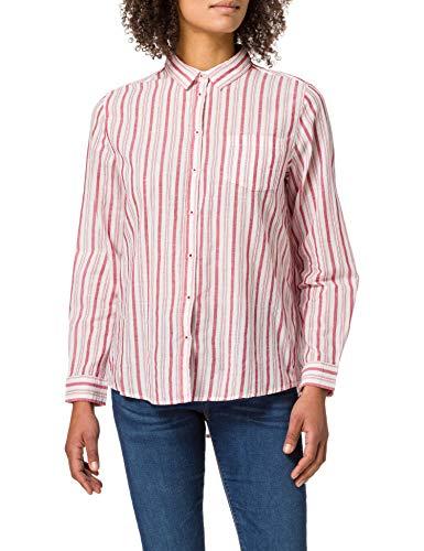 Springfield Blusa Estampada Camisa, Morado/Lila, 38 para Mujer