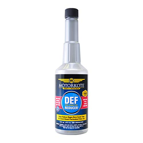 Motorkote Diesel Exhaust Fluid Reducer and Diesel Particulate Filter DPF Cleaner, 16 fl. oz, 1 Pack MK-50940