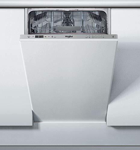 Whirlpool WSIC 3M27 Slim - Lavavajillas (45 cm, 10 Cubiertos, Clase A++, Sexto Sentido)