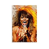 laoyinbi Tina Turner Poster, dekoratives Gemälde,