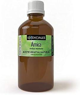 Essenciales - Aceite Vegetal de Árnica, 100% Puro, 500 ml | Aceite Vegetal Arnica Montana