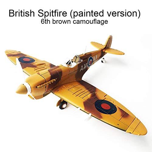Hankyky 4D Flugzeug Modell Kits lackiert Version 1: 48 Maßstab Militärische montiert Modell Flugzeug pädagogische Spielzeug Flugzeug Modell Spielzeug Kampfflugzeug Modell Flugzeug