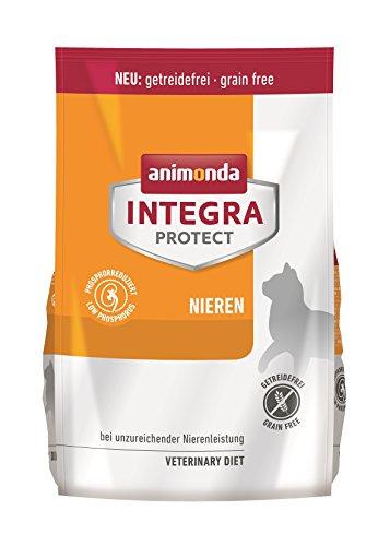 animonda Integra Protect Nieren Katzen, Trockenfutter bei Niereninsuffizienz, Geflügel + Rind, 1,2 k g