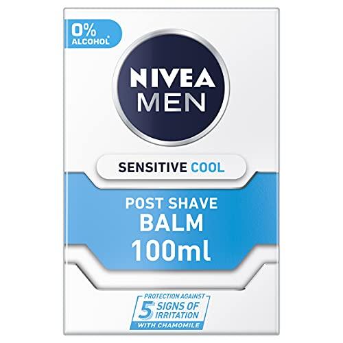 Nivea - Sensitive, bálsamo aftershave, pack de 3 (3 x100 ml)