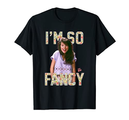 Saved By The Bell I'm So Fancy Kelly Kapowski T-Shirt, Adult and Child Sizes