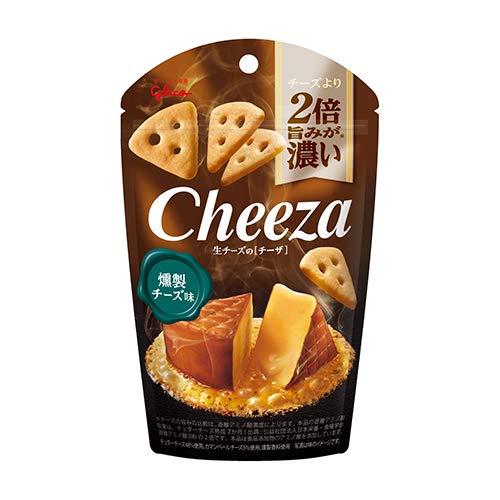 グリコ 生チーズのチーザ〈燻製チーズ味〉40g 4コ入り