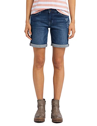 MUSTANG Damen Regular Fit Bermuda Jeans