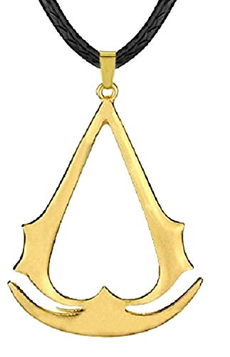 Assassin's credo ketting - koord - gouden kleur assassin's