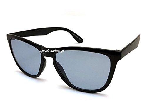 超軽量 WELLINGTON SUNGLASS(超軽量ウェリントンサングラス)BLACK × LIGHT BLUE