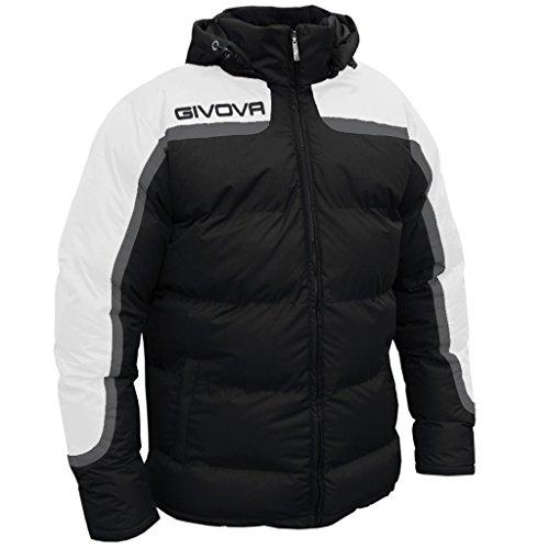 Givova, chaqueta antartide, negro/blanco, 2XL